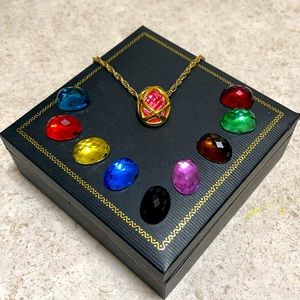 JOAN RIVERS CLASSIC EGG INTERCHANGEABLE NECKLACE